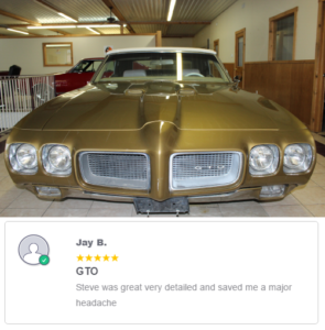 1970 Pontiac GTO Classic Car Inspection Review