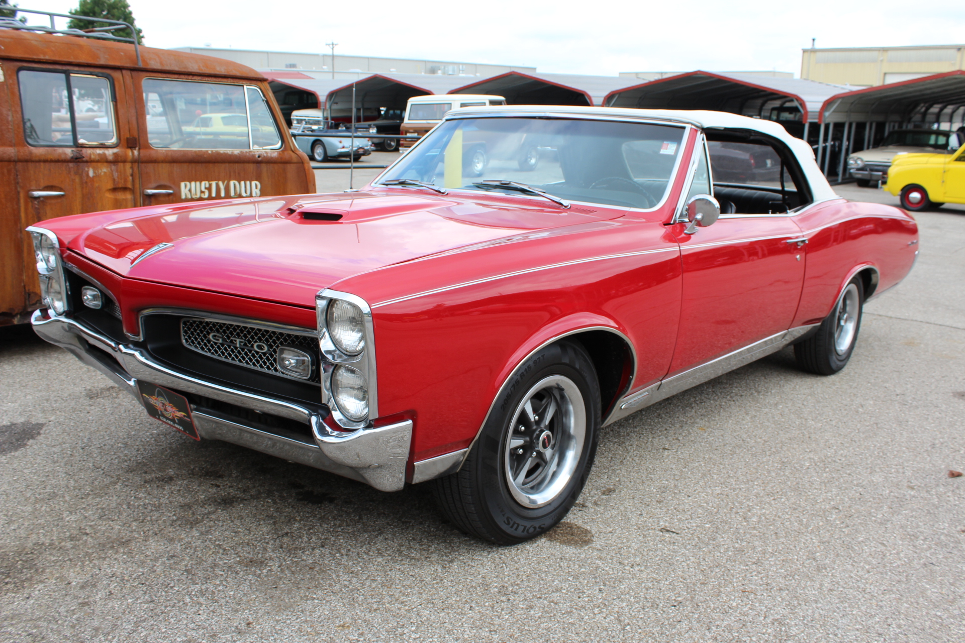 1967 Pontiac GTO Convertible Classic Car Pre-Purchase Inspection ...