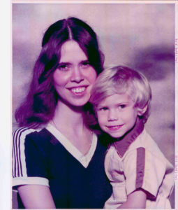Steven Paul and his Mother Gail Smith