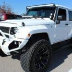 2016 Jeep Wrangler Unlimited Sport - Custom Used Car Inspection Edwardsville IL 003
