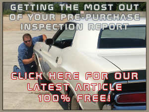 Free Article - Getting The Most Out of Your Pre-Purchase Inspection