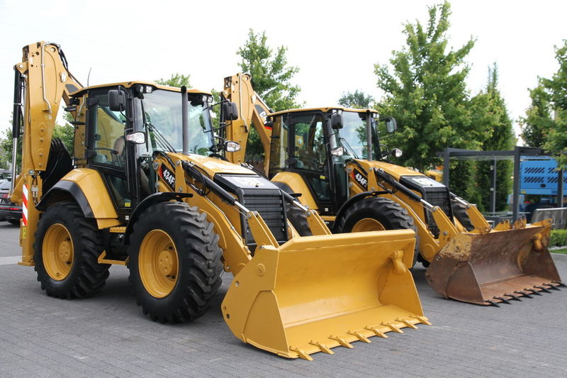 Backhoe Construction Equipment Inspection