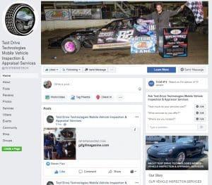 Facebook - Test Drive Technologies Vehicle Inspection Appraisal Services