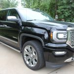 GMC, Sierra, Black, Pickup, Truck 4x4, Inspection