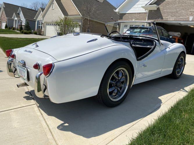 1959 Triumph TR3 Classic Car Inspection