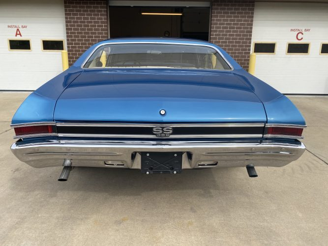classic car, chevelle, 396, ss, blue, muscle car