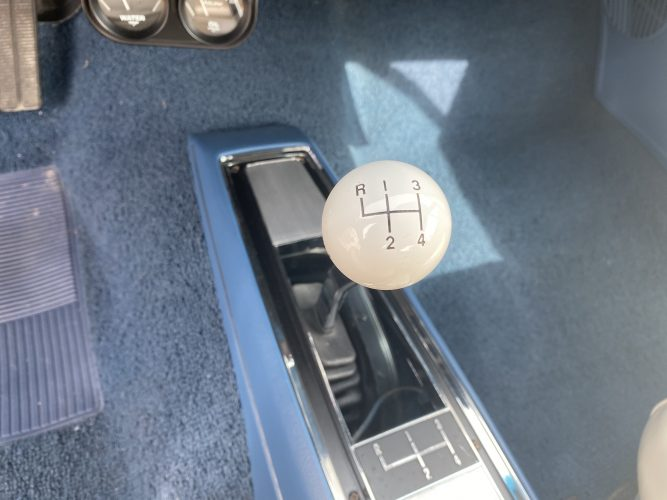 classic car, chevelle, 396, ss, blue, muscle car, shifter, 4 speed, manual, transmisison