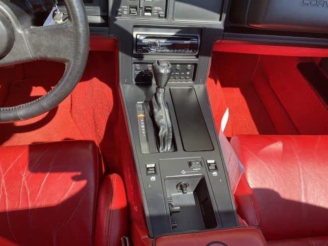 Classic Car Inspection Of A 1989 Chevrolet C4 Corvette In O'fallon, Il
