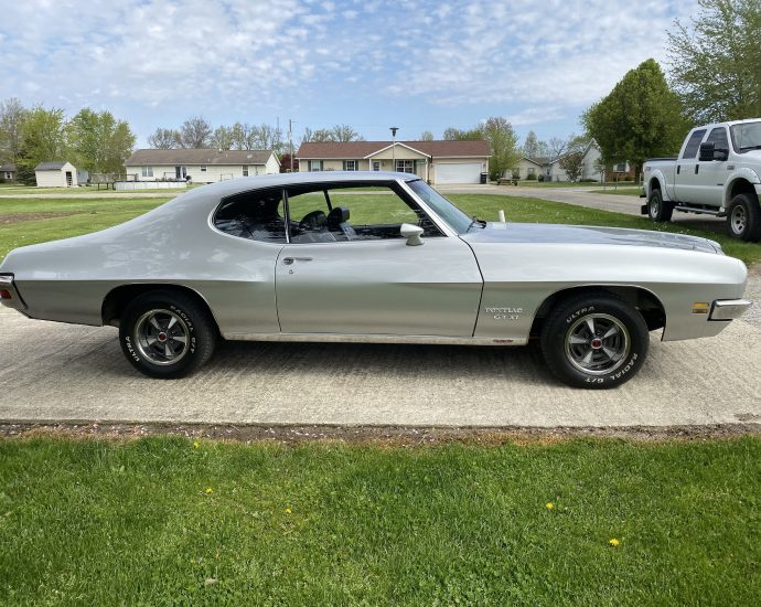 Pre-purchase Muscle Car Inspection Of A 1971 Pontiac Lemans Gt37