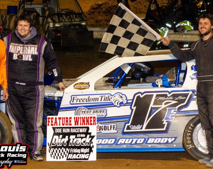 Matt Edler 17e Takes The B Mod Feature Win Opening Night At Doe Run Raceway