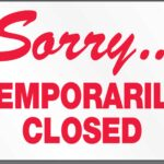 Tdt Is Temporarily Closed