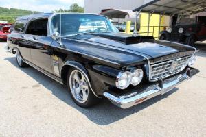 1963 Chrysler New Yorker Wagon Classic Car Inspection 048