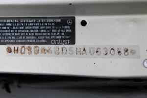 1987 MERCEDES 560SL WDBBA48D5HA063068 - CLASSIC CAR INSPECTION 105
